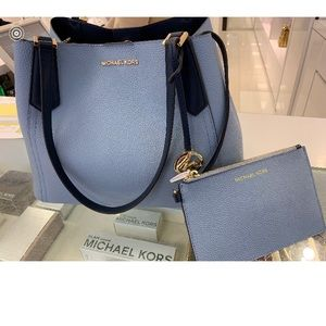 Michael Kors bag and wristlet